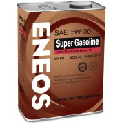 Масло моторное ENEOS SUPER GASOLINE 100% SYNTHETIC 5W30 4л