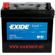 Аккумулятор 60Ah EXIDE Excell EB605
