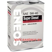 Масло моторное ENEOS SUPER DIESEL 100% SYNTHETIС A