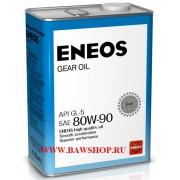 Масло трансмиссионное ENEOS SAE 80W90 GL-5 4л oil1376